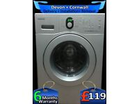 Samsung Washing Machine, 5Kg, Fast 1200, Diamond Drum, Factory Refurbished inc 6 Months Warranty