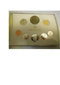 2007 CANADA BABY STERLING SILVER PROOF COIN SET $1 COIN