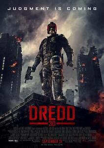 A3 Judge Dredd Poster 4