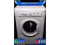 Fast 1200, A+, 6kg, Hotpoint Washing Machine, Quick Wash, Fully Refurbished inc 6 Months Warranty