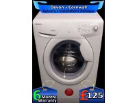 Large 6Kg Drum, AAA+ Rated, 1600 Mega Spin, Quick Wash, Fully Refurbished inc 6 Months Warranty