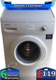 Big 6Kg Load, Bosch Washing Machine, Fast 1200, Easy Care, Factory Refurbished inc 6 Months Warranty