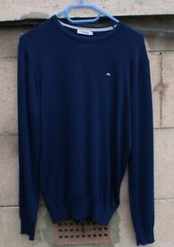 J.Lindeberg jumper Small Navy.