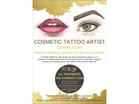 Cosmetic Tattooing/Semi Permanent Make Up of Eyebrows, Eye Liner and Lip Liner in Golders Green