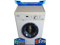 Top Tech, 1200 Spin, Express Wash, Miele Washing Machine, Factory Refurbished inc 6 Months Warranty