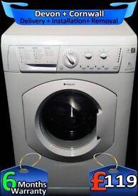 Hotpoint Washing Machine, Daily Fast Wash, Fast 1400, Factory Refurbished inc 6 Months Warranty