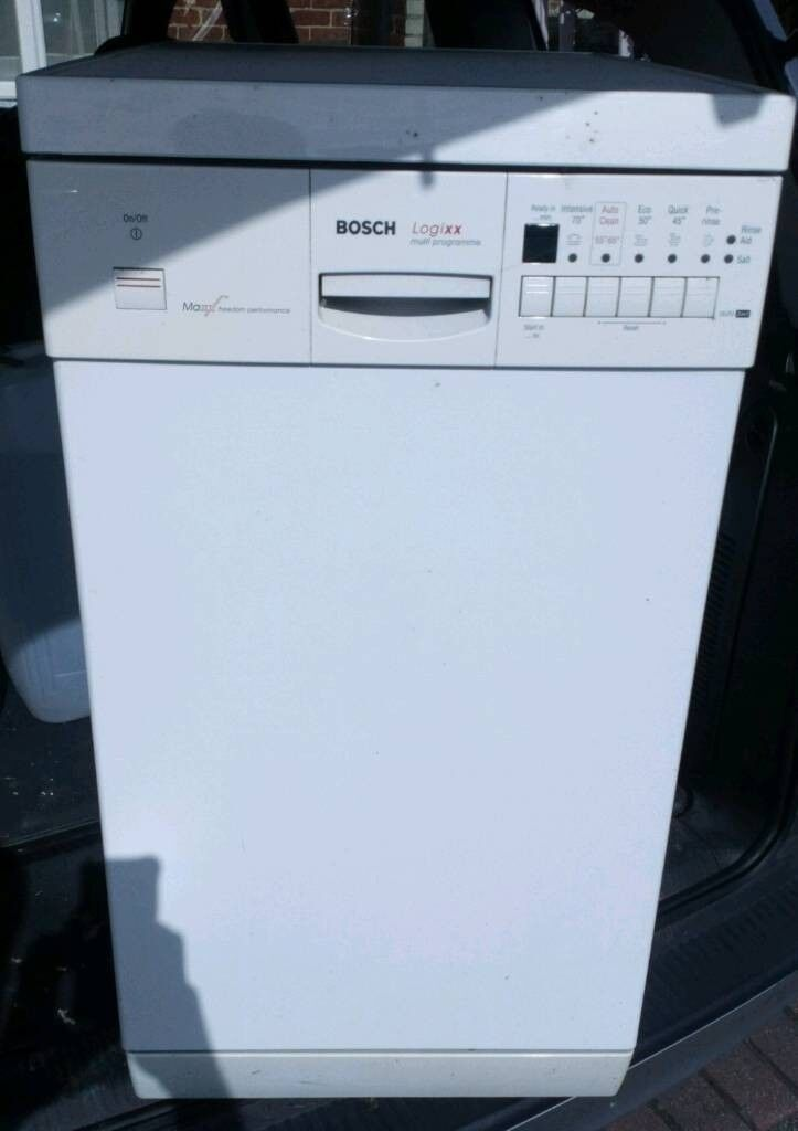 Lovely Clean Slimline Bosch Maxx Dishwasher With All Fittings And