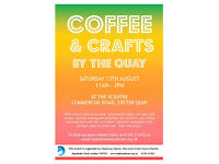 Coffee & Crafts by Exeter Quay