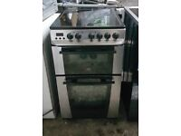 6 MONTHS WARRANTY Zanussi 60cm, double oven electric cooker FREE DELIVERY