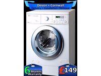 Fast 1200, Huge 8Kg, A+, Diamond Drum, LG Washing Machine, Fully Refurbished inc 6 Months Warranty