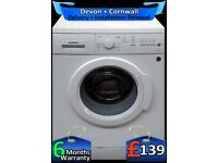 Siemens Washing Machine, Fast 1400, A+ Rated, Top Spec, Factory Refurbished inc 6 Months Warranty