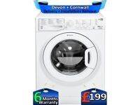 Top Tech, A+, 8+6KG, Fast Wash, Hotpoint Washer Dryer, Factory Refurbished inc 6 Months Warranty