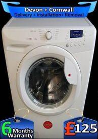 Hoover Washing Machine, Big 8Kg Drum, Rapid Wash, A+, Factory Refurbished inc 6 Months Warranty