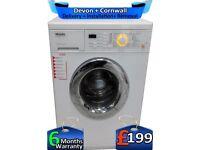1600 Mega Spin, AquaStop, LCD, Top Miele Washing Machine, Factory Refurbished inc 6 Months Warranty