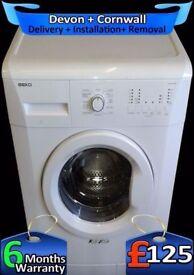 Fast 1200, Quick Wash, Beko Washing Machine, A+, 7Kg Load, Fully Refurbished inc 6 Months Warranty