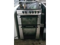 6 MONTHS WARRANTY Stainless steel Zanussi 50cm, fan assisted electric cooker FREE DELIVERY