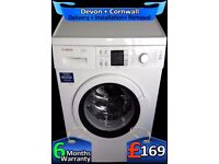 AAA+ Rated, Top Bosch Washing Machine, Big 7Kg, Top Tech, Fully Refurbished inc 6 Months Warranty