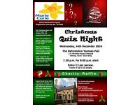 Christmas Quiz in aid of Marie Curie Cancer Care