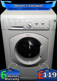 Fast 1400, Hotpoint Washing Machine, Daily Fast Wash, Factory Refurbished inc 6 Months Warranty