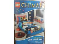 LEGO CHIMA SINGLE BED QUILT COVER SET