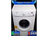 Mini Load, Fast 1400, Zanussi Washer Dryer, 6Kg Drum, LCD, Fully Refurbished inc 6 Months Warranty