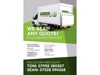 Van Hire,Removals, Man & Van, Express Courier & Collections and Deliveries