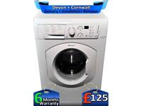 7KG, LCD, Fast 1400, Rapid Wash, Hotpoint Washing Machine, Factory Refurbished inc 6 Months Warranty