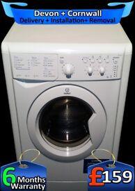 Indesit Washer Dryer, 6+5Kg Load, Fast 1200, 45 Min Program, Fully Refurbished inc 6 Months Warranty