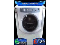 Hotpoint Ultima, Fast Wash, Big 8Kg Drum Steam Washer Dryer, Fully Refurbished inc 6 Months Warranty