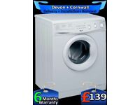5kg Drum, 1000rpm, Half Load,Whirlpool Washer Dryer, Fully Refurbished inc 6 Months Warranty