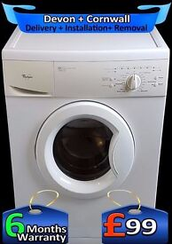 Fast 1200 Spin Washing Machine, Whirpool, Quick wash, Fully Reconditioned inc 6 Months Warranty