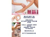 Professional Waxing and massage