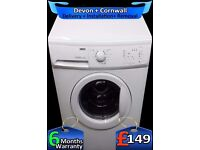 Fast 1200, Quick Wash, Very Big 8kg Zanussi, A+ Rated, Fully Refurbished inc 6 Months Warranty