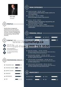 CANADIAN- PROFESSIONAL RESUME WRITING SERVICES 289.426.0472
