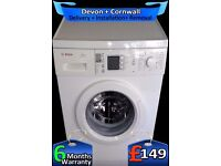 Fast 1400, Many Options, Bosch Big 7Kg Drum, Touch Control, Fully Refurbished inc 6 Months Warranty