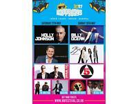 2 VIP happy days festival tickets Saturday 27/05/17