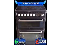 Lcd, Auto, Hotpoint Ceramic Double Oven, Fan Assisted, Fully Refurbished inc 6 Months Warranty
