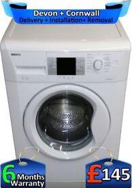 LCD, A++, Fast 1200, Huge 9Kg Drum, Beko Washing Machine, Factory Refurbished inc 6 Months Warranty