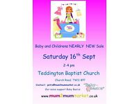Teddington Mum2mum Market - Baby and Children Nearly New Sale