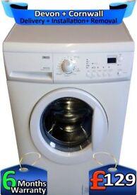 Zanussi Washing Machine, Big 7Kg, 1600 Mega Spin, LCD, A+, Factory Refurbished inc 6 Months Warranty