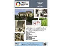 Planning/Architectural/Design Construction/Renovation Garden/Landscaping Kitchens/Bathrooms
