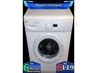 Super Fast Washing Machine, Quick Wash, Beko 1500, LCD, Fully Refurbished inc 6 Months Warranty