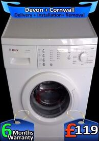 Bosch 6Kg Drum, Fast 1200, Touch Control, Many Options, Fully Refurbished inc 6 Months Warranty