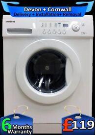 Fast 1200, 6KG Load, Samsung Washing Machine, Quick Wash, Fully Refurbished inc 6 Months Warranty