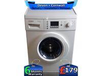 Quick Wash 'N' Dry, Top Bosch Washer Dryer, 1200, 5+5kg, Factory Refurbished inc 6 Months Warranty