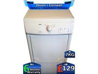 Zanussi Tumble Dryer, Low Bottle, 7kg Load, Condenser, Factory Refurbished inc 6 Months Warranty
