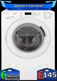 Candy 8Kg Drum, Current Model Washing Machine, Fast 1300, Fully Refurbished inc 6 Months Warranty