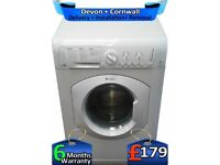 Auto Wash'N'Dry, Hotpoint Washer Dryer, Big 7+5Kg Load, Factory Refurbished inc 6 Months Warranty
