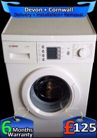 Top Washing Machine, Fast 1200, Big 7Kg Bosch, Rapid Wash, Fully Refurbished inc 6 Months Warranty
