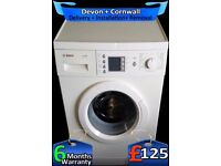 Top Washing Machine, Fast 1200, Big 7Kg Bosch, Rapid Wash, Fully Refurbished inc 6 Months Warranty